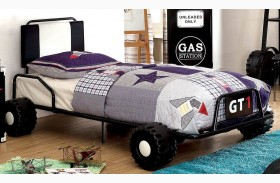 Power Racer Twin Platform Bed
