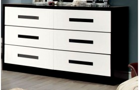 Rutger White and Black Dresser