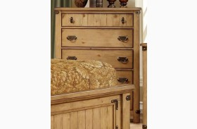 Pioneer Burnished Pine Chest