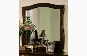 Esperia Dark Walnut Mirror