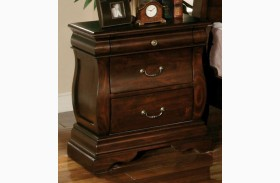 Esperia Dark Walnut Nightstand
