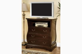 Esperia Dark Walnut Media Chest