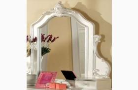 Victoria Pearl White Mirror