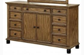 Mcville Dark Oak Dresser