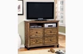 Mcville Dark Oak Media Chest