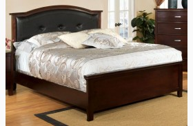 Crest View Brown Cherry Full Panel Bed