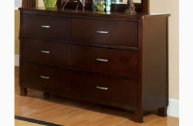 Crest View Brown Cherry Dresser