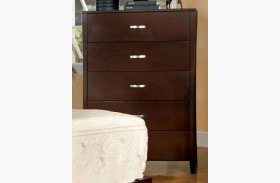 Midland Brown Cherry Chest