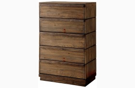 Coimbra Rustic Natural Chest