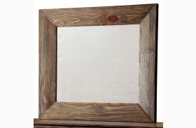 Coimbra Rustic Natural Mirror