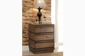 Coimbra Rustic Natural Nightstand