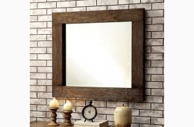 Aveiro Rustic Natural Mirror