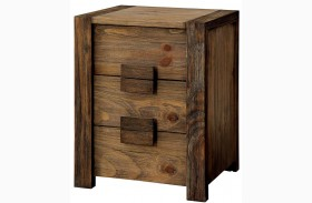 Aveiro Rustic Natural Drawer Nightstand