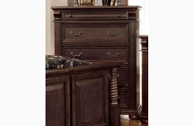Esperia Brown Cherry Chest