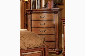 Bellagrand Antique Tobacco Oak Chest