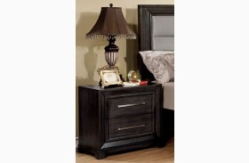 Bradley Dark Gray Nightstand