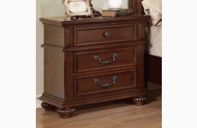 Landaluce Antique Dark Oak Nightstand