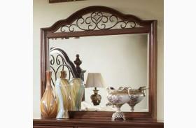 Landaluce Antique Dark Oak Mirror