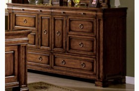 Cambridge Rich Tobacco Oak Dresser