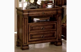 Cambridge Rich Tobacco Oak Nightstand