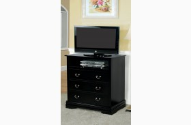 Laurelle Black Media Chest