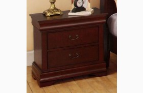 Laurelle Cherry Nightstand