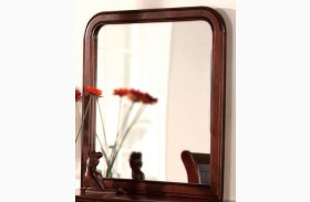 Louis Philippe II Cherry Mirror