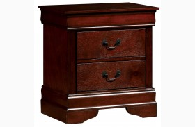 Louis Philippe III Cherry Nightstand
