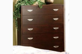 Crystal Lake Brown Cherry Chest