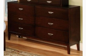 Crystal Lake Brown Cherry Dresser