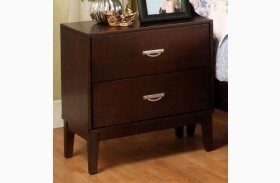 Crystal Lake Brown Cherry Nightstand