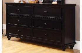 Caspian Black Dresser