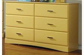 Prismo Yellow Dresser
