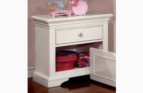 Mullan White Nightstand