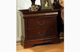 Velda Ii Brown Cherry Nightstand