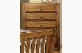 Conrad Rustic Oak Chest