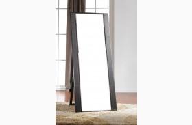 Colibri Dark Walnut Floor Mirror