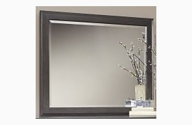 Commentary Steel And Oak Large Landscape Mirror