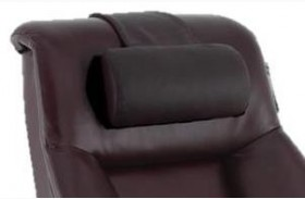 Oslo Merlot Top Grain Leather Cervical Pillow