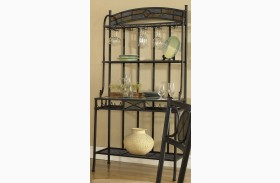 Carolyn Slate Bakers Rack