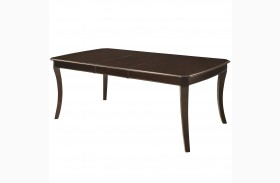 Crest Hill Cherry Brown Rectangular Dining Table