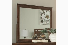 Cupertino Antique Amber Dresser Mirror