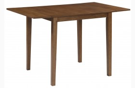 Joveen Light Brown Drop Leaf Dining Table