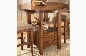 Cross Island Oval Counter Height Extendable Table
