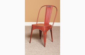 Timbuktu Red Side Chair Set of 2