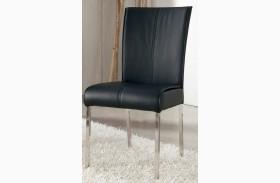 Baraga Black Upholstered Side Chair Set of 2