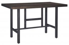 Kavara Medium Brown Rectangular Counter Dining Table