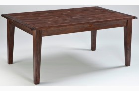 Mestler Dark Brown Rectangular Dining Room Table