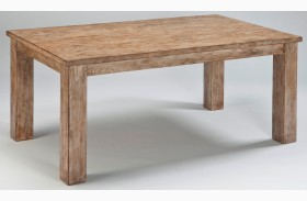 Mestler Driftwood Rectangular Dining Room Table