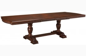 North Shore Double Pedestal Extension Table